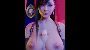 Tifa 大奶子動畫3D